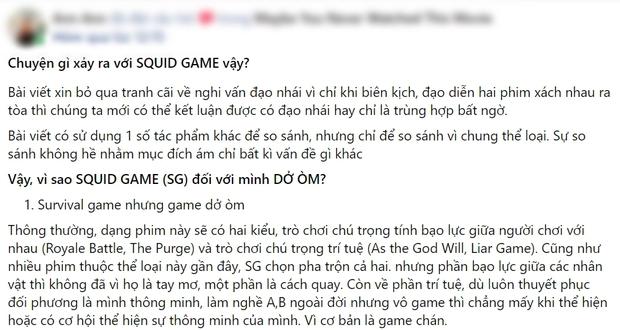 Netizen chiến nhau tanh bành vì Squid Game: Người khen hay nức nở, kẻ chê bai thảm họa - Ảnh 7.