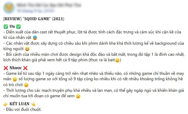 Netizen chiến nhau tanh bành vì Squid Game: Người khen hay nức nở, kẻ chê bai thảm họa - Ảnh 6.
