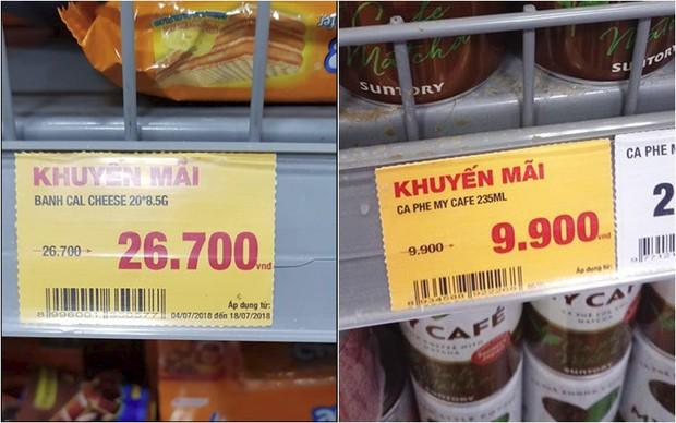 Thấy siêu thị để bảng giảm giá sốc, cô gái định mua nhưng lại quay xe 180 độ sau khi nhìn thấy dòng chữ này - Ảnh 4.