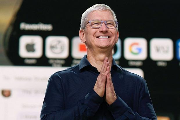 Tim Cook đăng bài chúc mừng Trung thu, nhưng vô tình để lộ dòng iPhone cũ đang dùng khiến netizen được dịp tha hồ cà khịa - Ảnh 1.