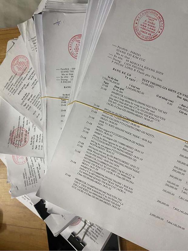 Giang Kim Cúc tung xấp sao kê tốn gần 2,5 triệu tiền giấy in: Minh bạch trong thiện nguyện không khó, chỉ là Cúc dồn một lúc gần 2 tháng nên hơi chậm trễ - Ảnh 4.
