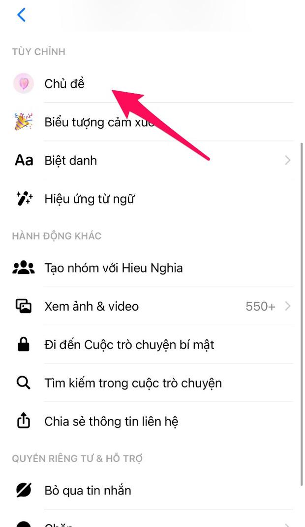 Messenger lại vừa cập nhật theme mới, bạn đã thử chưa? - Ảnh 4.