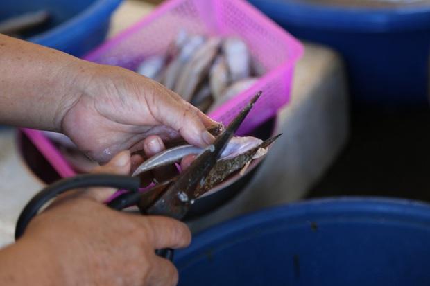 Hàng trăm tấn hải sản chất đầy kho đông lạnh không bán được vì dịch Covid-19 - Ảnh 6.
