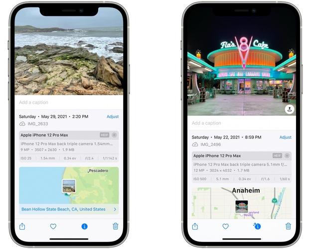 iOS 15 mới cho phép xem thông tin ảnh siêu hay ho, hội hay hóng drama nhất định phải biết! - Ảnh 5.
