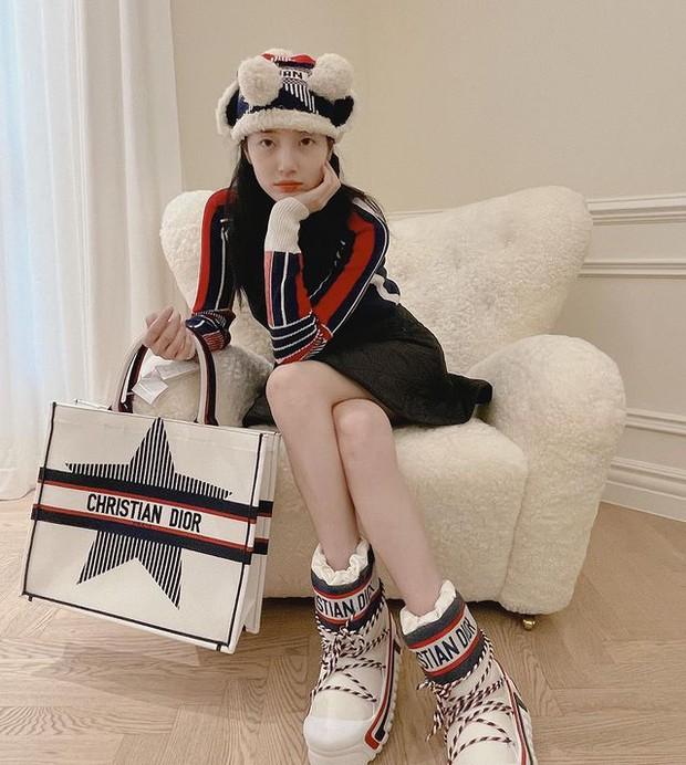Suzy mặc đồ hiệu xa xỉ tiện thể khoe nội thất trăm triệu, đúng là bên ngoài trẻ đẹp bên trong nhiều tiền  - Ảnh 1.