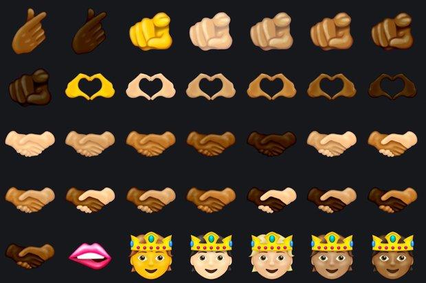 iOS 15 tung hàng loạt icon mới, từ bắn tim tới đàn ông mang bầu khiến fan đồng loạt gọi hồn Lil Nas X - Ảnh 3.