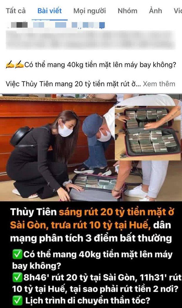 Chỉ trong gần 3 tiếng, Thuỷ Tiên rút 30 tỷ đồng tiền mặt ở TP.HCM và Huế: Netizen tranh cãi nảy lửa 3 điều? - Ảnh 2.