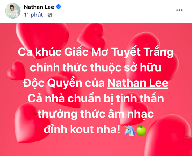 Sau khi bắt lỗi chính tả, Nathan Lee tuyên bố mua độc quyền hit Giấc Mơ Tuyết Trắng của Thuỷ Tiên luôn! - Ảnh 1.