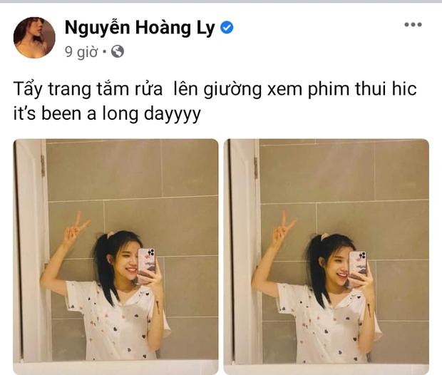 Tối Trung thu LyLy khoe mặt mộc trong phòng tắm, netizen lại soi thêm hint chung tổ ấm với Anh Tú? - Ảnh 2.