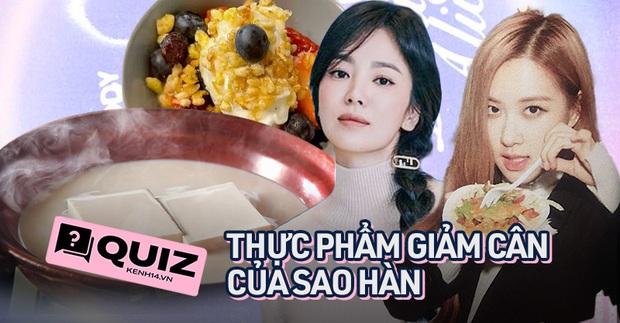 Quiz: Thử ngay 7 câu Quiz xem bạn am hiểu đến đâu về những loại thực phẩm giảm cân của sao Hàn - Ảnh 1.