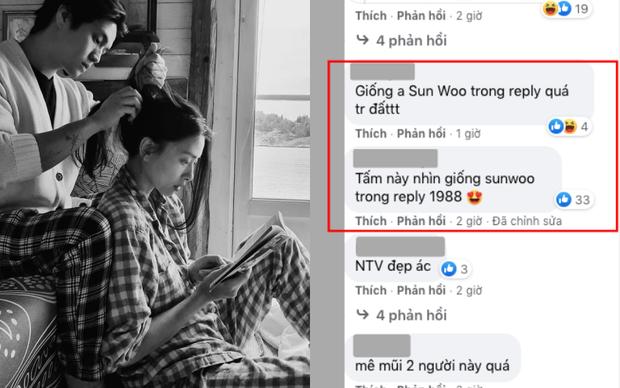 Mê mẩn Huy Trần trong loạt ảnh cẩu lương bên Ngô Thanh Vân, nhưng netizen kêu giống từ Quang Đại, diễn viên Reply 1988 đến Won Bin - Ảnh 2.