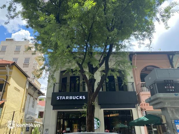 Cửa hàng Starbucks đầu tiên ở Sài Gòn được mở, khách thi nhau giục khiến shipper muốn nản - Ảnh 4.