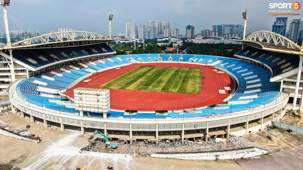 Sân vận động Mỹ Đình đang được tích cực nâng cấp, cải tạo - Ảnh 1.