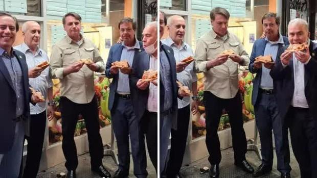 Không tiêm vaccine, Tổng thống Brazil phải đứng ăn pizza ngoài vỉa hè tại New York - Ảnh 1.