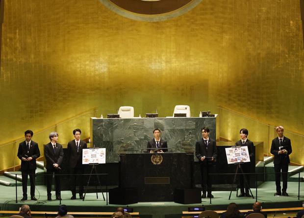 Nam MC nổi tiếng của Mỹ bị fan tế sống khi lỡ lời giới thiệu nhạy cảm về BTS tại Đại hội đồng Liên Hợp Quốc - Ảnh 4.