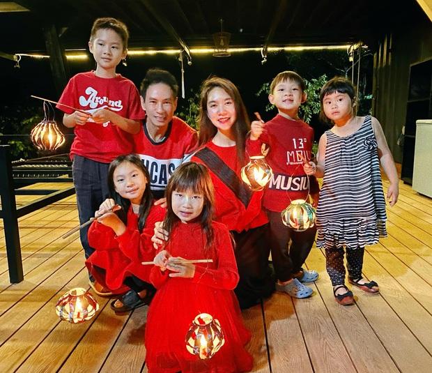 Rộ tin Lý Hải - Minh Hà bí mật sinh nhóc tỳ thứ 5, nguồn cơn từ loạt ảnh đêm Trung thu - Ảnh 4.