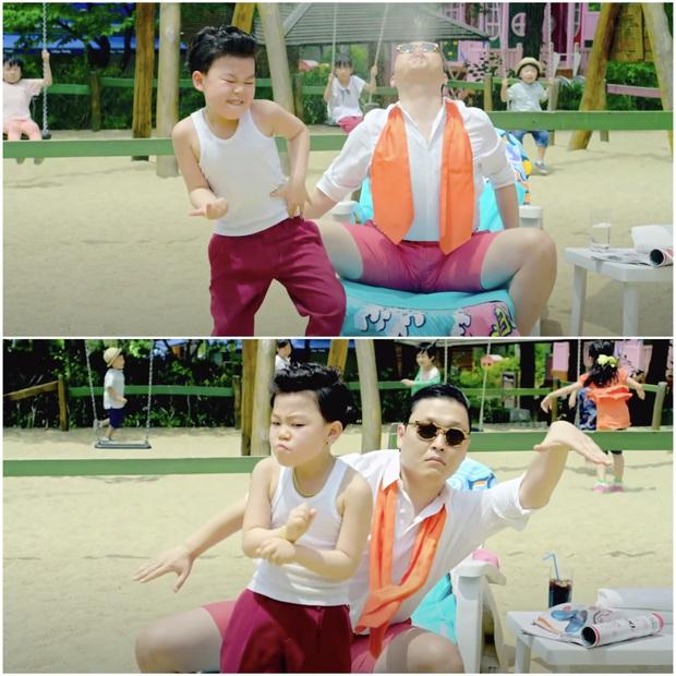 """""""Tiểu PSY"""" - cậu bé gốc Việt từng xuất hiện trong siêu hit Gangnam Style giờ ra sao sau khi được đặt nhiều kỳ vọng ngày bé? - Ảnh 1."""