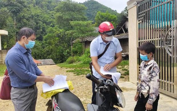 Những góc học online đặc biệt giữa núi rừng của học sinh vùng cao xứ Nghệ - Ảnh 7.