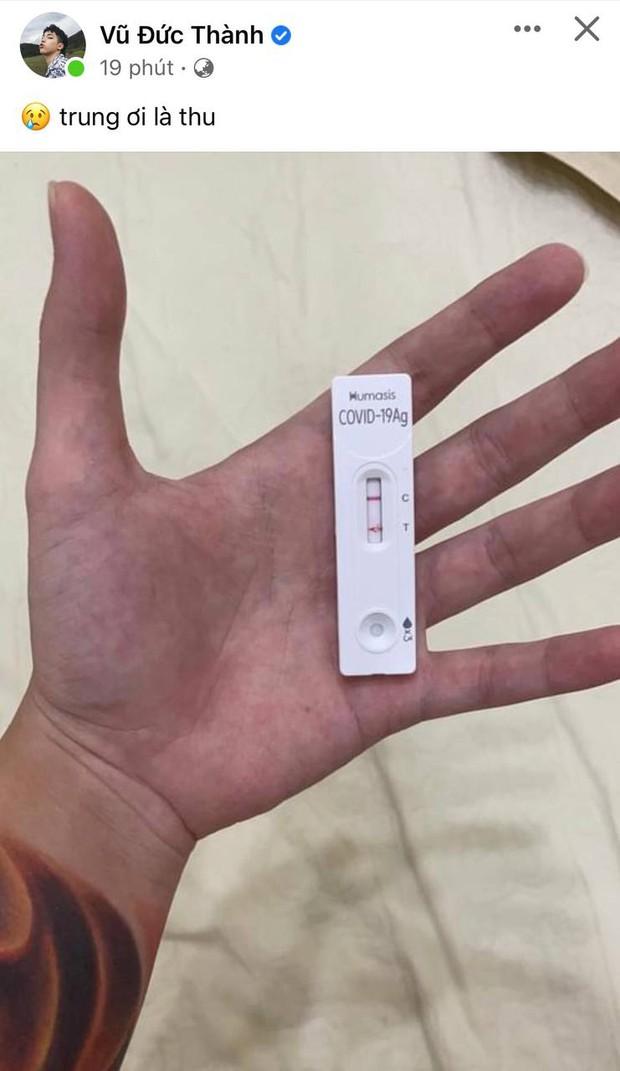 Toki Thành Thỏ (Uni5) đăng ảnh kit test nhanh hiển thị dương tính SARS-COV-2, bình luận ở dưới gây phẫn nộ - Ảnh 2.