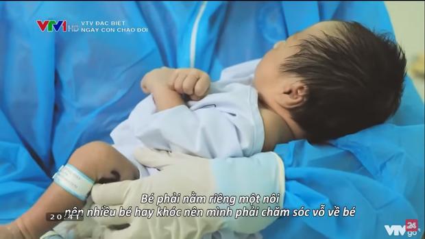 Phóng sự đặc biệt VTV Ngày con chào đời - những giọt nước mắt của hạnh phúc đón chào một sinh linh giữa đại dịch - Ảnh 5.