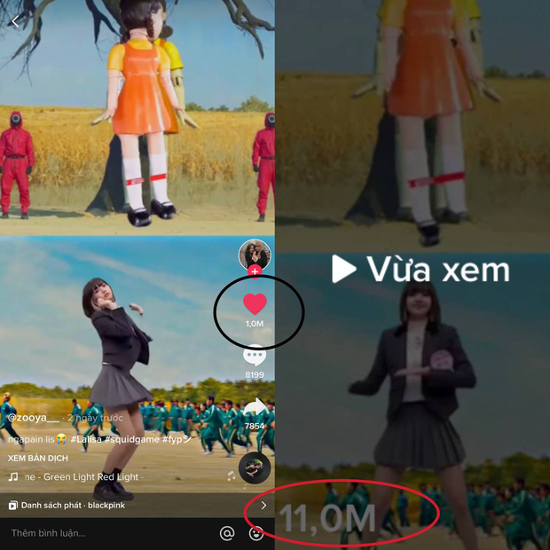Lisa (BLACKPINK) chơi Đèn Đỏ Đèn Xanh trong Squid Game, thắng thua thế nào mà thu về tận 11 triệu views? - Ảnh 5.