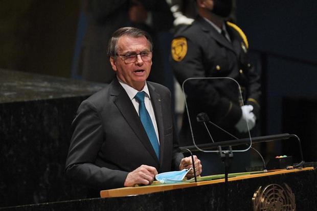 Tổng thống Brazil tự cách ly sau khi dự họp tại trụ sở Liên Hợp Quốc ở New York - Ảnh 1.