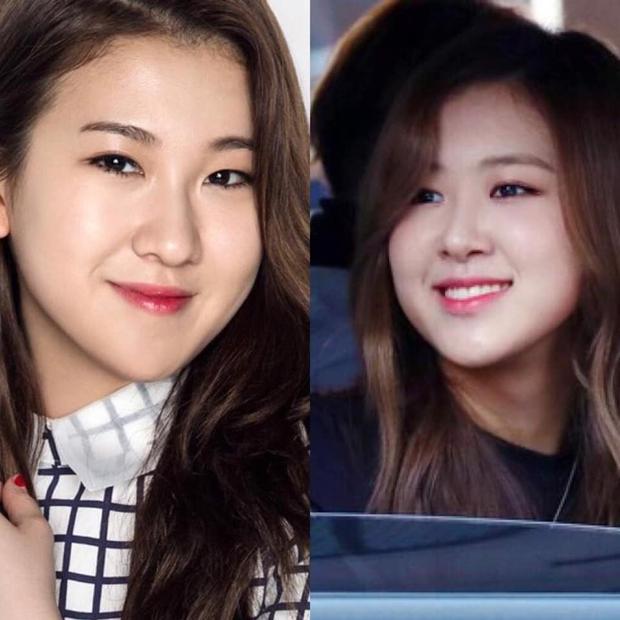 """Có ai còn nhớ Rosé (BLACKPINK) thời """"em còn non và xanh"""" thế nào không, nhìn cứ ngỡ chị em thất lạc với nữ idol nhà JYP này - Ảnh 6."""
