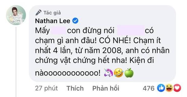 Nathan Lee tuyên bố Thuỷ Tiên động chạm mình 4 lần từ năm 2008, đáp trả thẳng thắn khi bị nói thừa tiền - Ảnh 4.