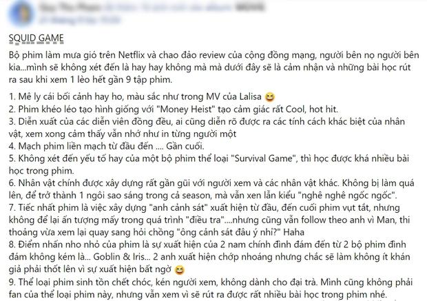 Netizen chỉ ra loạt điểm mạnh đáng khen của Squid Game: Một bộ phim rất Hàn Quốc và hơn thế nữa! - Ảnh 8.