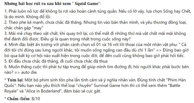 Netizen chỉ ra loạt điểm mạnh đáng khen của Squid Game: Một bộ phim rất Hàn Quốc và hơn thế nữa! - Ảnh 9.