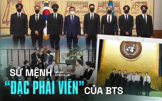 1 tuần bận rộn của đặc phái viên BTS: Sát sao bên Tổng thống Hàn Quốc, diện kiến Tổng Thư ký LHQ, trình diễn tại Đại hội đồng! - Ảnh 1.