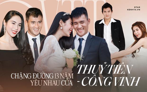 13 năm Thuỷ Tiên - Công Vinh: Từ scandal ảnh nóng, bị cấm cưới đến cái nắm tay cùng nhau đi qua sóng gió của vợ chồng Beck - Vic Việt - Ảnh 2.
