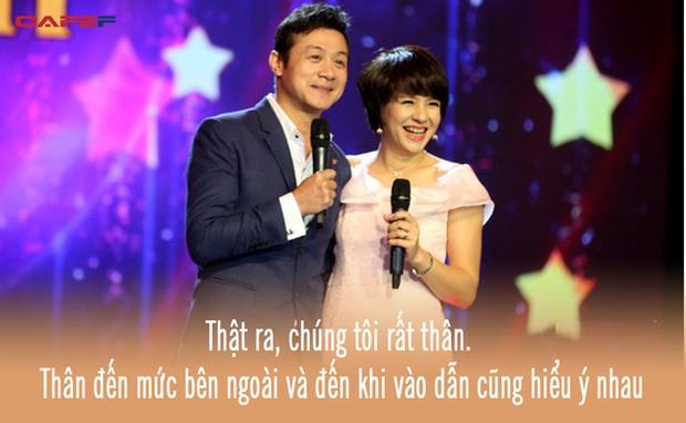 Cặp đôi vàng của VTV Diễm Quỳnh - Anh Tuấn ngày ấy bây giờ: Ngoài đời thân thiết, làm nghề ăn ý như vừng trộn với lạc, thậm chí từng bị hiểu nhầm là vợ chồng - Ảnh 2.