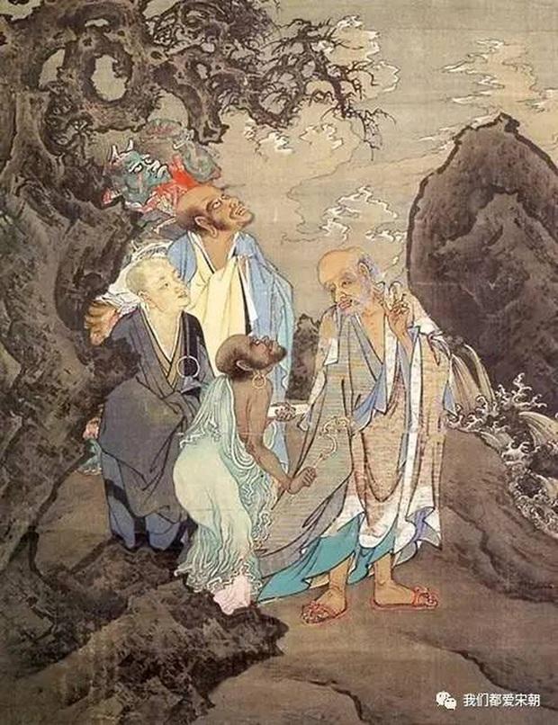 Phóng to 30 lần bộ tranh 700 tuổi, dân mạng Trung Quốc ngỡ ngàng vì một món đồ hiện đại: Thời nay nhà nào cũng có! - Ảnh 2.