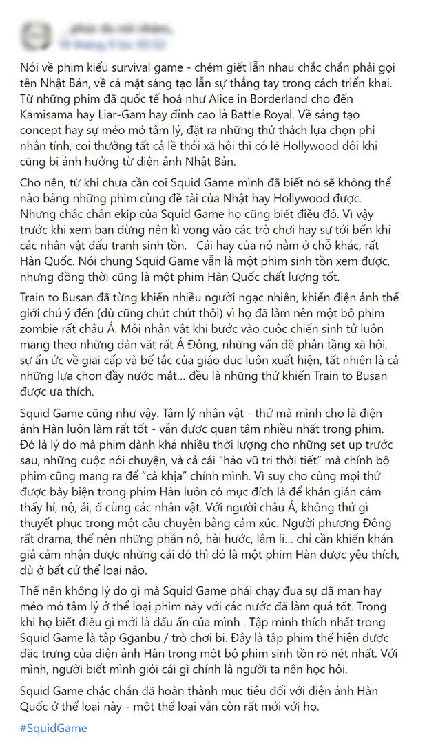 Netizen chỉ ra loạt điểm mạnh đáng khen của Squid Game: Một bộ phim rất Hàn Quốc và hơn thế nữa! - Ảnh 3.
