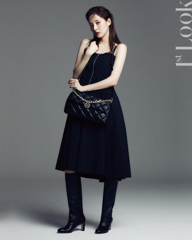 Seohyun lộ cả mảng lưng trần trắng nõn sexy trên tạp chí: Em út ngoan hiền của SNSD ngày nào giờ lột xác thật rồi! - Ảnh 9.