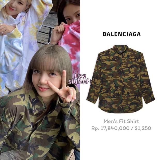 Lisa bỗng hóa gái Việt ngon ơ bên áo rằn ri, netizen chần chờ gì nữa mà không cheap moment với chị iu ngay thôi - Ảnh 3.
