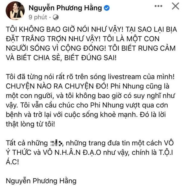 CEO Đại Nam chính thức lên tiếng làm rõ tin đồn thoá mạ, trù ẻo Phi Nhung không qua khỏi - Ảnh 2.