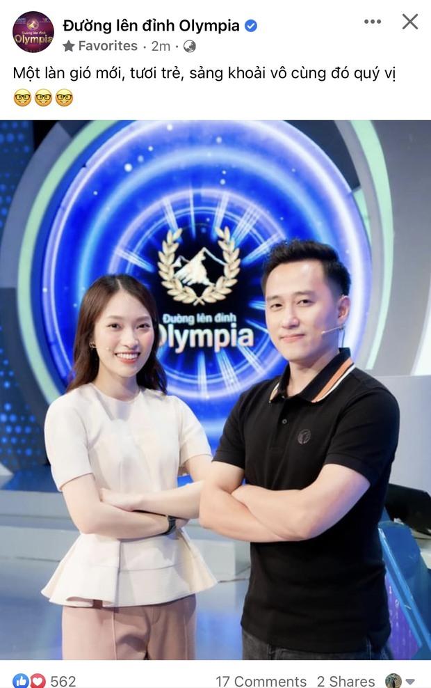 BTC Đường Lên Đỉnh Olympia nhận xét 3 tính từ về MC Khánh Vy - Ảnh 1.