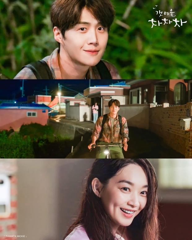 4 khoảnh khắc nhũn tim ở Hometown Cha-Cha-Cha: Shin Min Ah - Kim Seon Ho lăn giường ngọt lịm người luôn! - Ảnh 4.