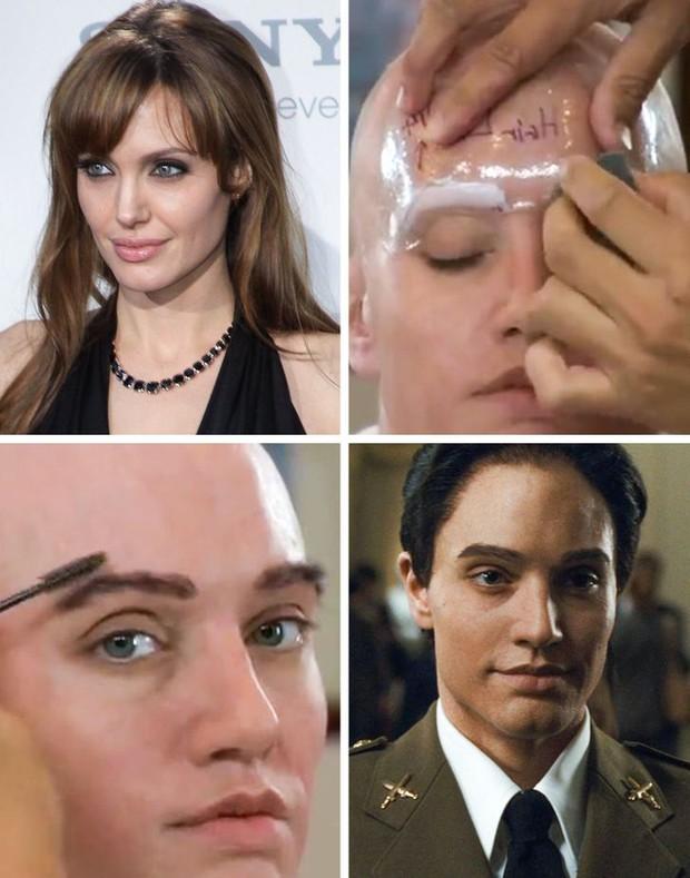 Nữ thần sắc đẹp Angelina Jolie từng hủy nhan sắc để giả trai trong phim, nam tính đến đâu mà Brad Pitt chạy mất dép? - Ảnh 2.