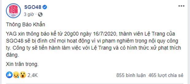 Thêm 1 thành viên của girlgroup đông dân nhất Việt Nam rời nhóm, chính là người từng dính nghi vấn viết confession đòi kiện công ty - Ảnh 5.