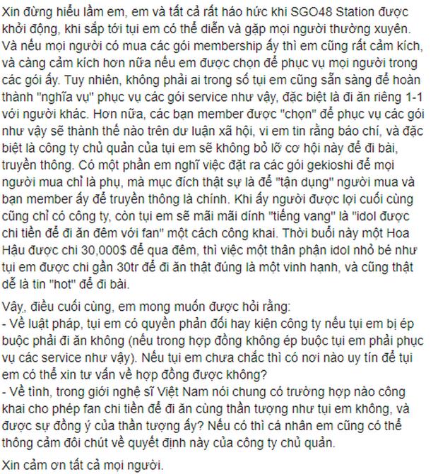 Thêm 1 thành viên của girlgroup đông dân nhất Việt Nam rời nhóm, chính là người từng dính nghi vấn viết confession đòi kiện công ty - Ảnh 10.