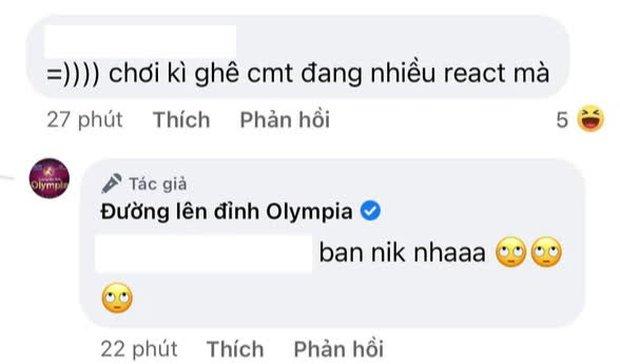 """Fanpage Đường Lên Đỉnh Olympia doạ cho netizen """"bay màu"""" nếu nhắc điều này dưới bài đăng về vụ thay MC - Ảnh 5."""