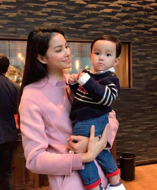 Lâu lắm mới được nghe lại giọng Phạm Hương, quý tử mới sinh nói chuyện với mẹ bỉm nhìn cưng xỉu - Ảnh 7.