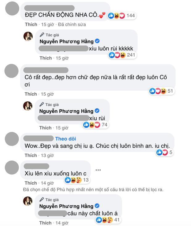 Phát hiện mới: Cứ được khen đẹp chấn động là bà Phương Hằng mới rep comment, lại còn đúng chính tả - Ảnh 2.