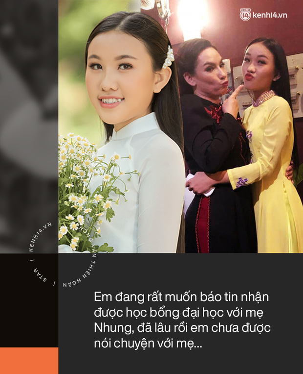 Phỏng vấn con gái Phi Nhung: Em có học bổng nhưng không thể khoe với mẹ, thấy mẹ đau đớn mà bất lực, xót xa - Ảnh 4.