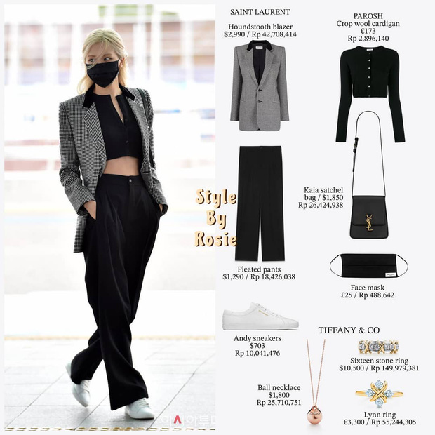 HOT: Jisoo và Rosé chính thức lên đường tham dự Paris Fashion Week, mặc đồ đơn giản nhưng trị giá lại hơn cả tỷ đồng - Ảnh 3.