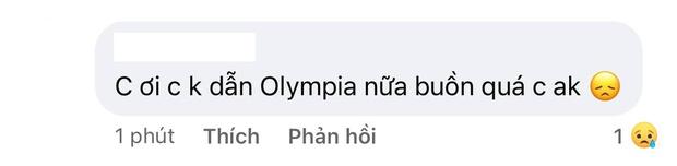 MC Diệp Chi âm thầm làm điều này khi netizen vẫn tràn vào hỏi: Vì sao không tiếp tục dẫn Olympia? - Ảnh 3.