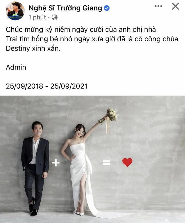 Nhã Phương khoe ảnh cực tình kỷ niệm 3 năm ngày cưới, tiết lộ 1 thay đổi của Trường Giang là biết nịnh chồng cỡ nào! - Ảnh 5.